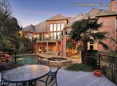 Executive Home in gated community. Designed and remodeled by David Lewis. Unbelievable quality.