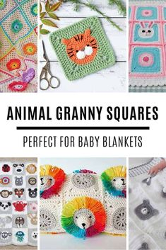 Click the image to get your Crochet Animal Granny Square Pattern! Click the ima. Click the image to get your Crochet Animal Granny Square Pattern! Click the image to get your Croc Granny Square Häkelanleitung, Granny Square Crochet Pattern, Crochet Squares, Crochet Blanket Patterns, Granny Squares, Baby Granny Square Blanket, Crochet Granny, Baby Boy Crochet Blanket, Baby Boy Blankets
