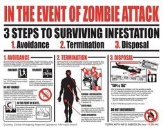 In the event of a zombie attack.