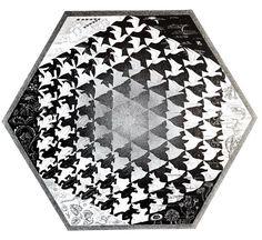 ESCHER Verbum Vintage print, Escher Print, Fantasy Print, Geometric Print, Frogs, Fish, Birds, Escher Poster, Graphic Art, Surrealist Print by MushkaVintage3 on Etsy Escher Prints, Mc Escher, Chalk Pastels, Illuminated Letters, Wood Engraving, Linocut Prints, Leg Tattoos, Woodblock Print, Tree Art