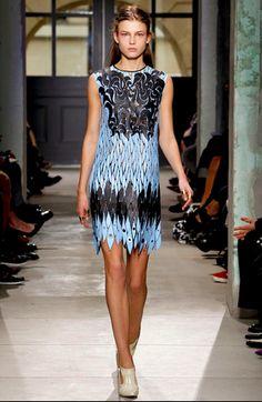 1. Balenciaga Spring/Summer 2013 - Inspired by Sumerian Kaunakes