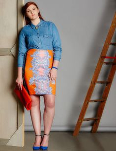 https://cdn.lookastic.com/looks/denim-shirt-pencil-skirt-pumps-clutch-necklace-large-1480.jpg