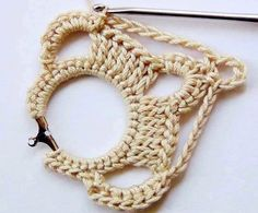 Creativo Craft, Futuros Proyectos, Bisuteria De, Crochet Pendientes, Pendientes De, Crochet Paso, Tejido Crochet, De Ganchillo, Debo Intentar