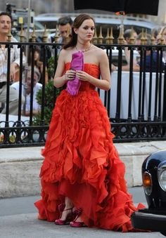 Blair Waldorf Dress: Oscar De La Renta One Of My Favorite Dresses Ever