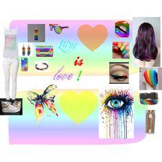Designer Clothes, Shoes & Bags for Women Pride, Photo Wall, Polyvore, Stuff To Buy, Color, Design, Women, Photograph, Colour