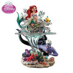Bradford Exchange Disney The Little Mermaid Part of Her World Ariel Ursula NEW Ariel Disney, Princesa Ariel Da Disney, Deco Disney, Disney Magic, Walt Disney, Disney Princesses, Cinderella Disney, Little Mermaid Bathroom, Mermaid Bathroom Decor