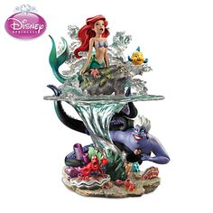 The Little Mermaid Part Of Her World Sculpture