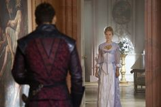 Alexandra Dowling as Queen Anne TV: BBC The Musketeers Season 3 Costumes by Hayley Nebauer Bbc Musketeers, The Three Musketeers, Aramis And Anne, 17th Century Fashion, Brothers In Arms, Farm Boys, King And Country, Jurassic Park World, Period Costumes