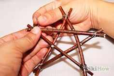 Make Twig Star Decorations - wikiHow