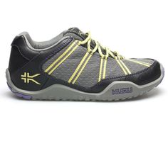 Chicane Black & Yellow - Women's Active Walking Shoes for Plantar Fasciitis. Most comfortable trail shoe! #iheartkuru