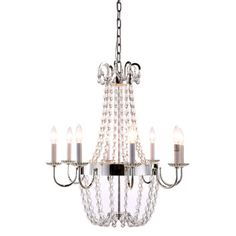 Features:  -Traditional style.  -Roma collection.  -Number of lights: 8.  Material: -Metal.  Number of Lights: -8.  Bulb Type: -Incandescent.  Material Details: -Brass. Dimensions:  Chain or Rod Lengt