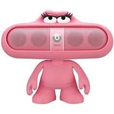 Amazon.com : Beats Dude Stand for Pill Portable Speaker (Pink) : MP3... ❤ liked on Polyvore featuring phones and electronics