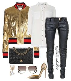 c5e0f5d6ade Goldie by fashionkill21 on Polyvore featuring polyvore fashion style Dorothy  Perkins Balmain Chanel Allurez Christian Dior