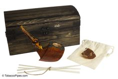 """TobaccoPipes.com - Owl Pipes """"The Nautical"""" Tobacco Pipe Gift Set, $136.00 (http://www.tobaccopipes.com/owl-pipes-the-nautical-tobacco-pipe-gift-set/)"""