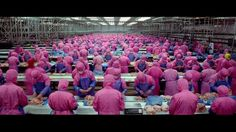 This clip from SAMSARA showing food production and consumption has been getting a lot of attention!  We'd love for you to watch the whole film: SAMSARA is available on DVD and Blu-ray, as well as On Demand from Amazon, ITunes and Netflix and just recently made #1 on Cinefix's top 10 list of the most beautiful movies of all time (https://www.youtube.com/watch?v=kj73aDoeFdk).   http://www.barakasamsara.com  FUCK US!