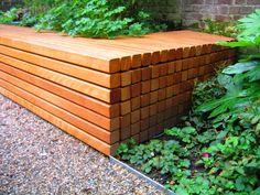 Idee voor tuinbank