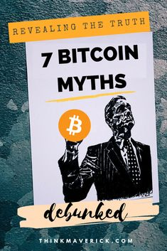 Top 7 Bitcoin Myths That Need To Be Busted Right Now! What's Bitcoin? You may have heard your share of Bitcoin baloney. It's no surprise. Bitcoin is not a subject that you can understand overnights. Even the most tech-savvy among us can get overwhelmed by Was Ist Bitcoin, Buy Bitcoin, Social Marketing, Marketing Digital, Investing In Cryptocurrency, Bitcoin Cryptocurrency, Blockchain Cryptocurrency, Cryptocurrency Trading, Free Bitcoin Mining