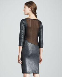 Charnele Mesh-Back Dress at CUSP.