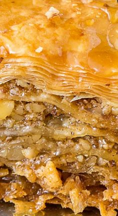 This honey baklava is flaky, crisp and tender and I love that it isn't overly sweet. It's basically a party in your mouth. I am a huge fan of baklava and this is the BEST baklava recipe I have ever tried.