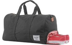 this one too, a gym bag with a spot for stinky shoes!
