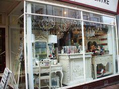 Cliffe High Street antique shop in Lewes, East Sussex, UK via the vintage cottage on Flickr