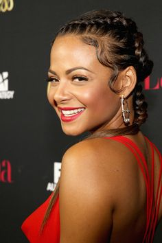Christina Milian at the 'Hollywood Hot List' Party 2014