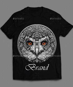 Owl t-shirt Design Vector EPS. Download here: https://graphicriver.net/item/owl-tshirt/17513011?ref=ksioks