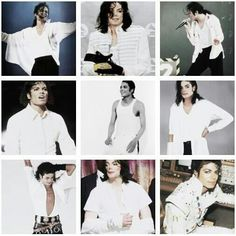 Michael in White