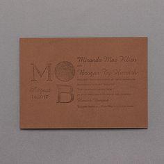 Brand Name - Invitation - Brown