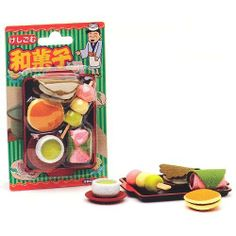 Iwako Japanese Puzzle Japanese Sweets Eraser 6 Pieces Pack by Iwako. $4.95. Puzzle eraser; Made in Japan; Iwako. Iwako Japanese Puzzle Japanese Sweets Eraser 6 Pieces Pack, made in Japan.