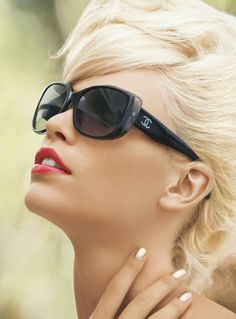 CHANEL Oversized Plastic Sunglasses via @Nordstrom #MayCatalog