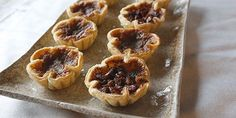 These beauties look as good as they taste, with a raisin-free option for those of you firmly in the no-raisin camp.Courtesy of pastry chef Jen Scott, Tofino, B.You might also like theseGreat Canadian Butter Tart Recipes. Tart Recipes, Cooking Recipes, Yummy Recipes, Pie Dessert, Dessert Recipes, Canadian Butter Tarts, Canadian Food, Canadian Recipes, Canadian Cuisine