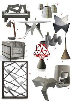 Colours of Design: Concrete Casting, Concrete Cement, Concrete Furniture, Concrete Projects, Concrete Design, Metal Furniture, Cement Art, Furniture Decor, Furniture Design