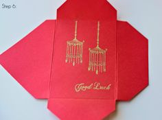 Crafter's Companion USA Information Blog : Tutorial: Red Lucky Envelopes