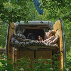 How To Choose The Best Type Of Camper - family camping site Sprinter Van Conversion, Camper Conversion, Zelt Camping, Camper Van Life, Types Of Bugs, Van Dwelling, Kombi Home, Caravan Renovation, Van Home