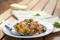 Lamb Ragu with Home-made Pappardelle - Sarah Graham Food Pappardelle Recipe, Pappardelle Pasta, Graham Recipe, Lamb Pasta, Lamb Sauce, Lamb Ragu, Sarah Graham, Lamb Chop Recipes, Italian Pasta Dishes
