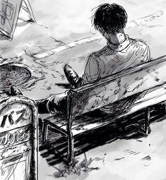 Levi Ackerman (Rivaille) - Shingeki no Kyojin / Attack on Titan Attack On Titan Fanart, Attack On Titan Levi, Manga Art, Manga Anime, Anime Art, Ereri, Levihan, Levi Ackerman, Kuroko
