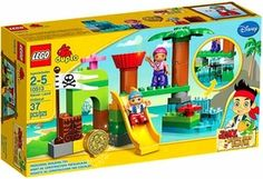 Really want to find Johnathan one of these sets if I dont get the Houseparty! LEGO Duplo Jake & the Neverland Pirates Set #10513 Never Land Hideout