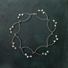Bloom Necklace - Art Jewelry Magazine - Jewelry Projects and Videos on Metalsmithing, Wirework, Metal Clay