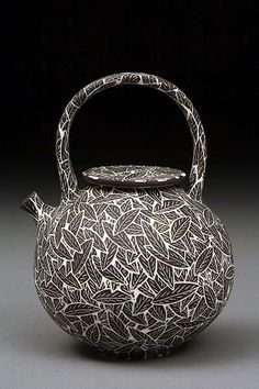 Becky and Steve Lloyd pottery at MudFire Gallery - RIP Steve Lloyd