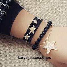 Yılbaşı takılarınıza ya da hediyelerinize bir alternatif... #miyuki #miyukibileklik #miyukiboncuk #miyukikolye #miyukiküpe #takı #trend #tasarım #özeltasarım #sipariş #siparişalınır #hediyelik #hediyelikeşya #aksesuar #gümüş #altın #yıldız #star #siyah #tagsforlikes #igers #accessories #beauty #fashion #yılbaşı #christmas