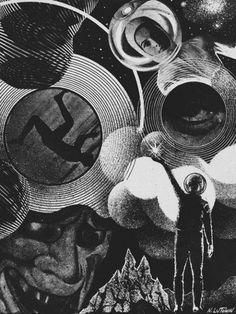 Иллюстрации югославского художника Николая Лутохина (Nikolai Lutohin, 1932—2000)