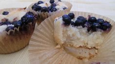 Autoimmune Paleo Lemon Blueberry Cupcakes!  Can't wait to try these!!!