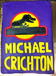 Jurassic Park at Johnson & Wales University Denver Campus Library's Edible Book Contest April 2015.  Submitted by Chef Zach.