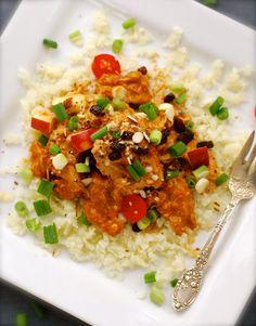 coconut chicken curry {crock pot recipe} | ChinDeep