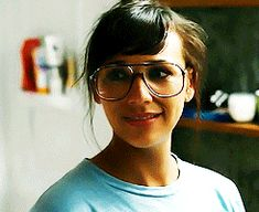 Rashida Jones wearing glasses Miss Spectacles