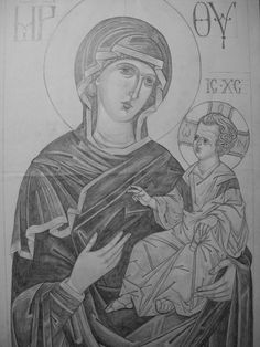 Stages Of Writing, Jesus Art, Orthodox Icons, Catholic, Sketches, Drawings, Byzantine, Tutorials, Hands