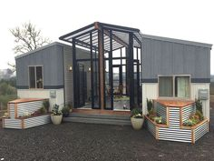 Tiny homes might be small for families, but here\u0027s a double\u002Dtiny design that might fit better.