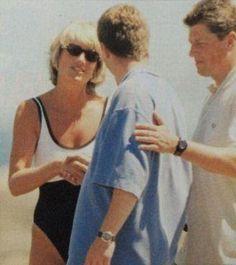Princess Diana and Trevor Rees-Jones 1997