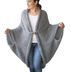 Etsy listing at https://www.etsy.com/listing/225354253/new-plus-size-over-size-gray-wool